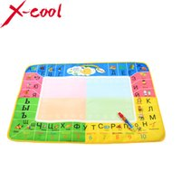 Wholesale earning Education Drawing Toys X49cm New Russian Water Drawing Mat with Magic pen Russian Child s drawing board drawing