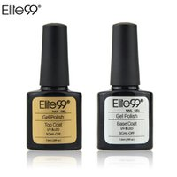 Wholesale Elite99 ml Nail Gel Top Coat Top It Off Base Coat Foundation for UV Nail Gel Polish Best on