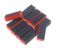 PP025 abrasive sponge pads - Professional Carbide Abrasive Drywall Sponge Sanding Pad Black There Sides Manicure Care Nail Art Buffer