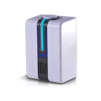 Wholesale Portable Negative Ion Air Purifier Ozonator Air Cleaner Oxygen Bar Purify Air Kill Bacteria Virus Ionizer