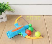 archery set toy - Arrow Table Tennis gun bow archery shooting boy toy children gift Flying Disk