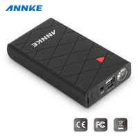 Wholesale ANNKE CP Innovative in car Portable Car Jump Starter with mAh High Capacity V A output port for phone tablet or other mobile