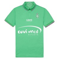 Wholesale AS Saint Etienne Home Shirt football AS Saint Etienne green home Soccer Jersey AS Saint Etienne home shirt Thai quality