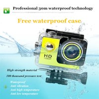 Wholesale Hot Sports Camera K SJ4000 P Full HD Car Cam DV Action Waterproof quot LCD Camcorders for cycling diving skiing recorder