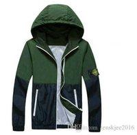 Wholesale New Men s Jacket Men s island Coats Bomber Jacket Windbreaker Brand Veste Homme Jeans Tactical Stone Jacket