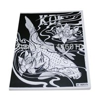 Wholesale Fashion Design Tattoo Book Japanese KOI Tattoo Designs by Horimouja Outline Stencil GREAT BOOK