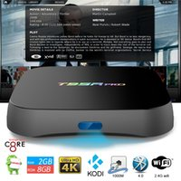 google internet tv box - 2gb gb Octa core S912 T95R pro Internet TV Box with Android OS G Wifi BT4 M Lan Amlogic Android TV Loaded KODI