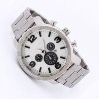 Wholesale Men Sports Watch Quartz Military Watches Men Luxury Brand Steel Oversize Dual Time Clock Men M Waterproof Sport Wristwatch