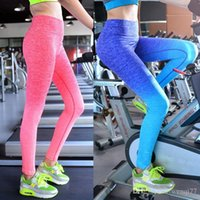 Wholesale Yoga Pants Slim Elastic Movement Workout Clothes Outdoors Quick Drying Running Tight Leggings