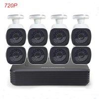 Wholesale Cotier CCTV Camera DVR System CH Night Vision Security Camera P P2P Cloud U Channel Surveillance DVR Kits