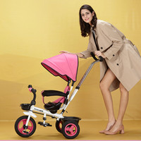Wholesale 4 Colors Luxury Baby Stroller High Landscape Sit and Lie Baby Carriage For Newborn Infant Wheels M24