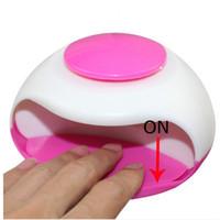 Wholesale OT Christmas gift Battery nail dryer professional mini nail dryer professional nail tools