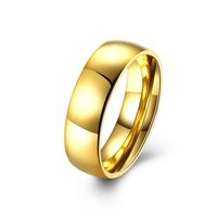 asian delivery - Lovers of men s gold standard size titanium ring free delivery