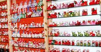 Wholesale 2017 hot fashion Christmas decorations candy boots the candy jar gift bag creative gift Christmas boots