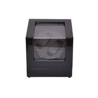 outside display cases - Watch Winder LT Wooden Automatic Rotation Watch Winder Storage Case Display Box Outside is black and inside is black