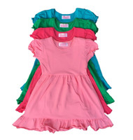 baby girl formal wear - 2016 Time limited cm t cm t Baby Girl Dress Ruffle Bottom Cotton Frock Boutique Casual Wear Kids Girls Top Clothing