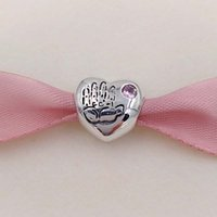 Music baby girl music - Genuine S925 Sterling Silver Beads Baby Girl Boy Charm Fit Pandora ALE Style Bracelets Necklace