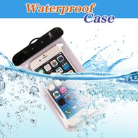 Wholesale Universal Waterproof Case CellPhone Dry Bag Pouch for Apple iPhone S S Plus SE S Samsung Galaxy S7 S6 Note HTC LG Sony to quot