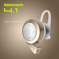 Wholesale Hot Top quality stereo headset bluetooth earphone headphone mini V4 wireless bluetooth handfree for iPhone Samsung