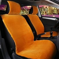 Wholesale High Quality faux fur front car seat covers for car seats auto covers universal fit Most car covers Interior Accessories new