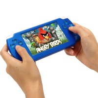 Wholesale 8GB PSP game inch touch GBA ultra thin touch screen X8 handheld in1 game consoles MP3 MP4 MP5 Player Video FM Camera