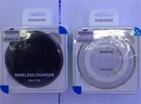 Wholesale Charging Plate - 1pcs Version 2.0 S6 Qi Wireless Charging Pad Charger Charge Plate For Samsung S6 Edge  S7  S7 edge  Note 5
