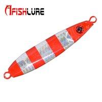 Afishlure Long Shot Медленная тонущая металлическая пластина для приманки 60г Приманка для рыбалки Многоцветная пресноводная рыба для солёной рыбы