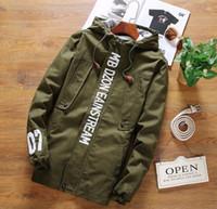 Wholesale New Fashion High Quality Men Jacket Coats print Men Causal Hooded Jacket Men Zipper Coats Deporte mens plus size XXXXXL