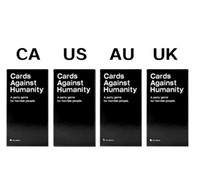 Wholesale Manufacturers Hot Cards of Humanity game US Edition Card Full Base Set Pack Party Gam HIGH QUALITY THICK CARDS Cards