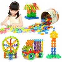 Wholesale Hot Sale cm High Quality Plastic Snowflake Building Blocks Puzzle Educational Intelligence Toy akye