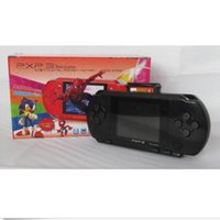 Wholesale BLACK PXP PVP P2P BIT GB VIDEO GAME CONSOLE HANDHELD GAMES XMAS GIFT