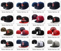 Unisex base fit - 2017 Hot Collection MLB Boston Red Sox Fitted Cap Embroidered Team Logo Baseball Cap Casual Style Sport Fit hats for men Cool Base