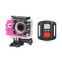 Cheap New Cost-effective With 2.4G remote control Best Yellow MicroSD / TF Action Camera