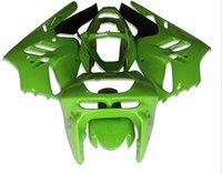 Acheter Zx 9r 94 97 carénages-Nouvelle moto ABS Kits de carénage Fitment pour KAWASAKI Ninja ZX9R 1994 1995 1996 1997 ZX-9R 9R 94 95 96 97 Ensemble de carrosserie joli vert