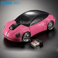 Wholesale Hot sale G Wireless Mini Optical Car Mouse for Laptop PC USB Receiver Mause game car mouse