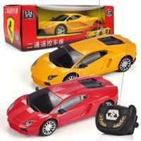 Wholesale RC Cars Boys Diecast Model Kids D Remote Control Toys Plastic for Children Cartoon Birthday Gift