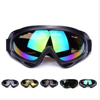Black Brown Discoloration 2017 Wholesale Cycling Eyewear sports Snow Goggle X400 Motorcycle Impact resistance toughness Waterproof sand Sunglasses Lens Multi style