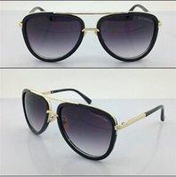 antique gold rectangle - DITA MACH Matte Black Antique Gold Grey Lens Glasses Eyewear got Sunglassesthey are a piece of fine art