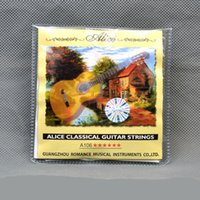 Wholesale Alice Classical Guitar String One Set A106