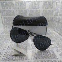 Gafas de sol polarizadas gafas de sol Pilot Sun de la marca de fábrica para los hombres y las mujeres Eyewear de la vendimia del deporte con la caja y la caja