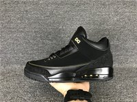Cheap New air retro 3 III BHM Black History Month 3s men basketball shoes sports sneakers wholesale discount free shipping size 7-12