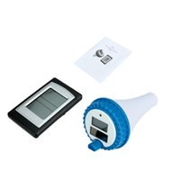 Wholesale Wireless Remote Swimming Pool Floating SPA Thermometer Solar Power WT0124