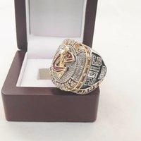 James2016 Baloncesto Cleveland Campeonato del Mundo Ring con caja de madera