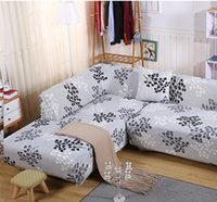 Wholesale Removable Stretch Sofa Cover Big Elasticity Couch Cover Furniture Cover Flower Design Color Washable Slipcover