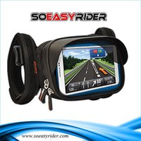 Wholesale So Easy Rider Motorcycle Bicycle Phone Holder Mobile Phone Stand Support for iPhone Plus Bike Holder with Waterproof Case Bag