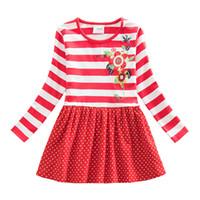 Wholesale 4 Y Retail Neat Brand Dress Baby Girl Cartoon Children Flower Tutu Party Fashion Princess Dresses Vestidos Cloth Wear LH5908