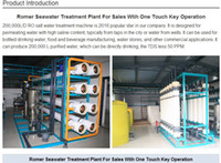 Wholesale 2017 year hot sale Solar L D reverse osmosis pure water processing machine Reverse osmosis water filters of pure life