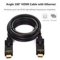 ethernet cable connector - Lamchin LolyHDMICable Male to Male M FT Degree Data Cable with Ethernet Gold plated Connector Adapter for Xbox D LCD HDTV