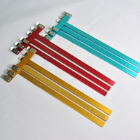 Wholesale 1 piece archery hunting stainless steel inches T ruler quot T Square inch Measure Ruler