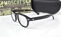 Wholesale HOT SALE Moscot lemtosh eyewear johnny depp glasses top Quality brand round eyeglasses frame with Arrow Rivet myopia for men women